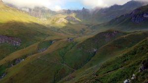 Weg zur Wurmaulspitze