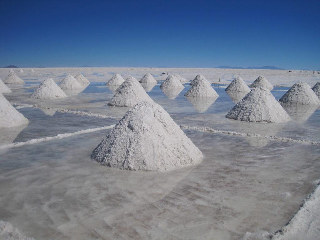 Uyuni Salzproduktion