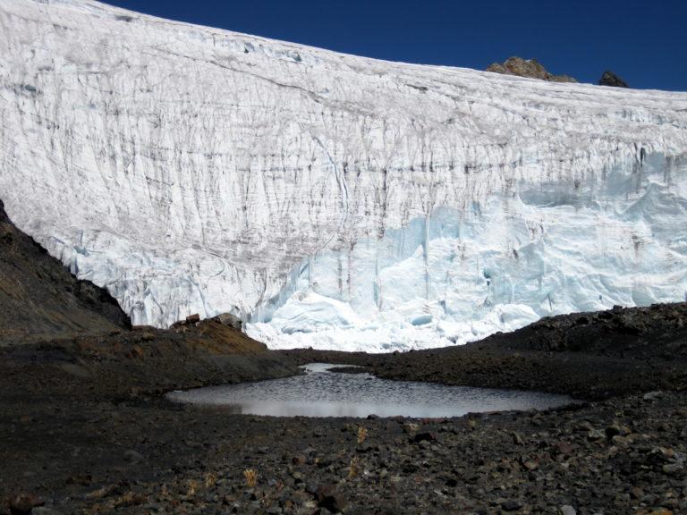 Pastoruri Gletscher