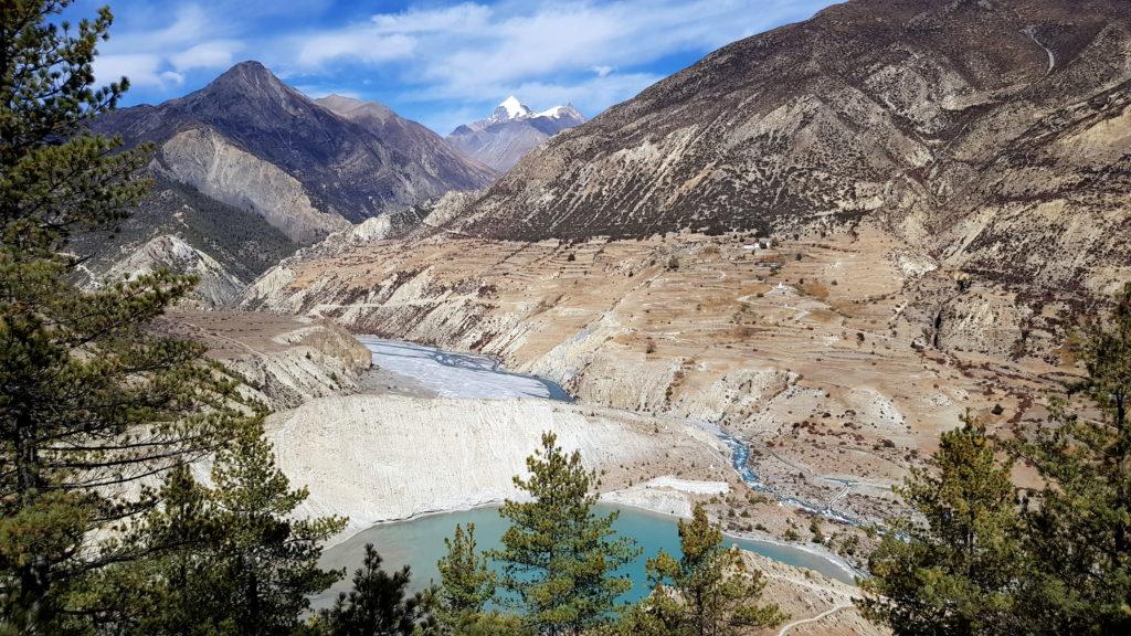 Gangapurna Gletscher