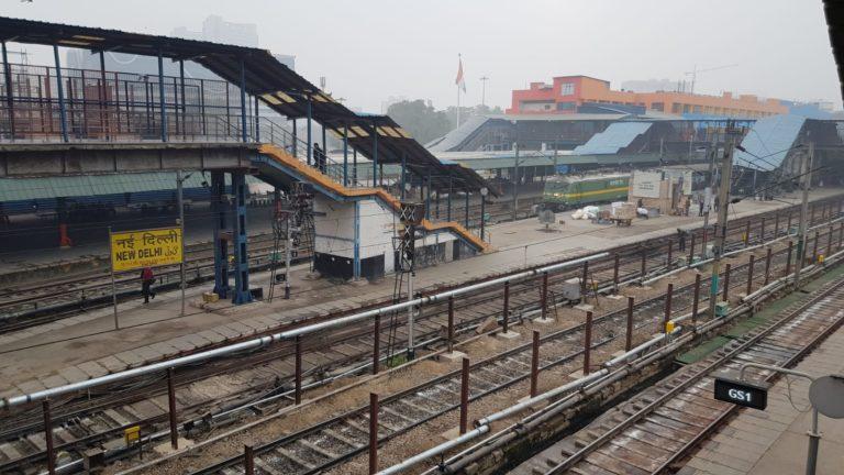 Delhi Bahnhof