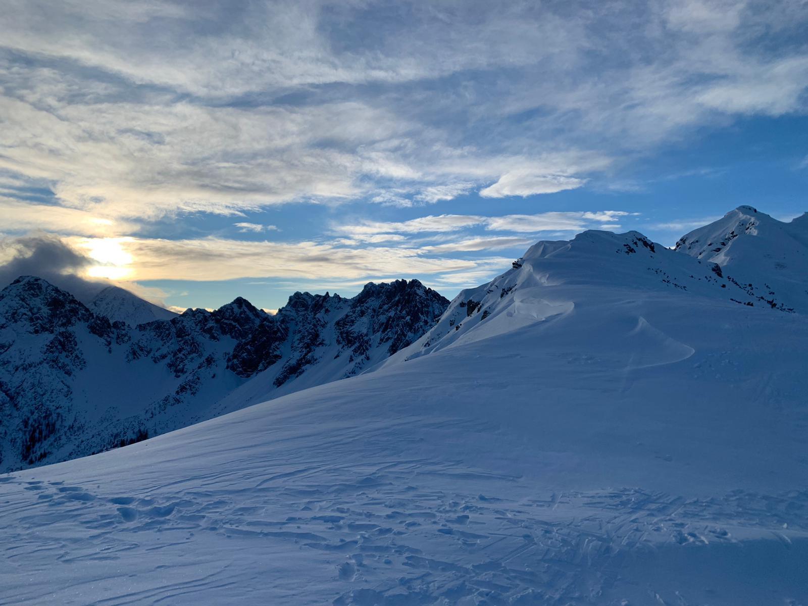 Seefelder Joch 2.060 m (Pistenskitour)