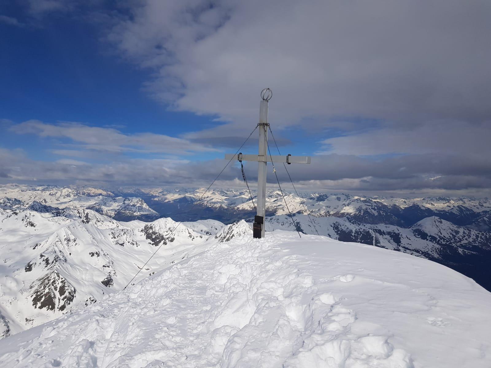 Glockturm 3.355 m (Skitour)