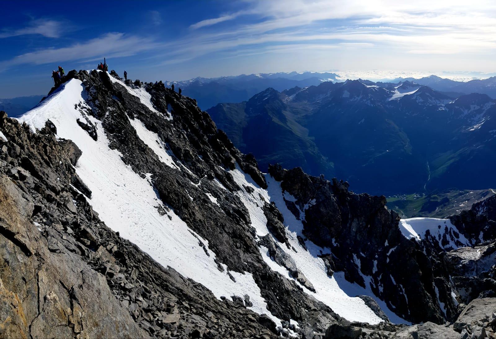 Ortler 3.905 m über Hintergrat (Hochtour)