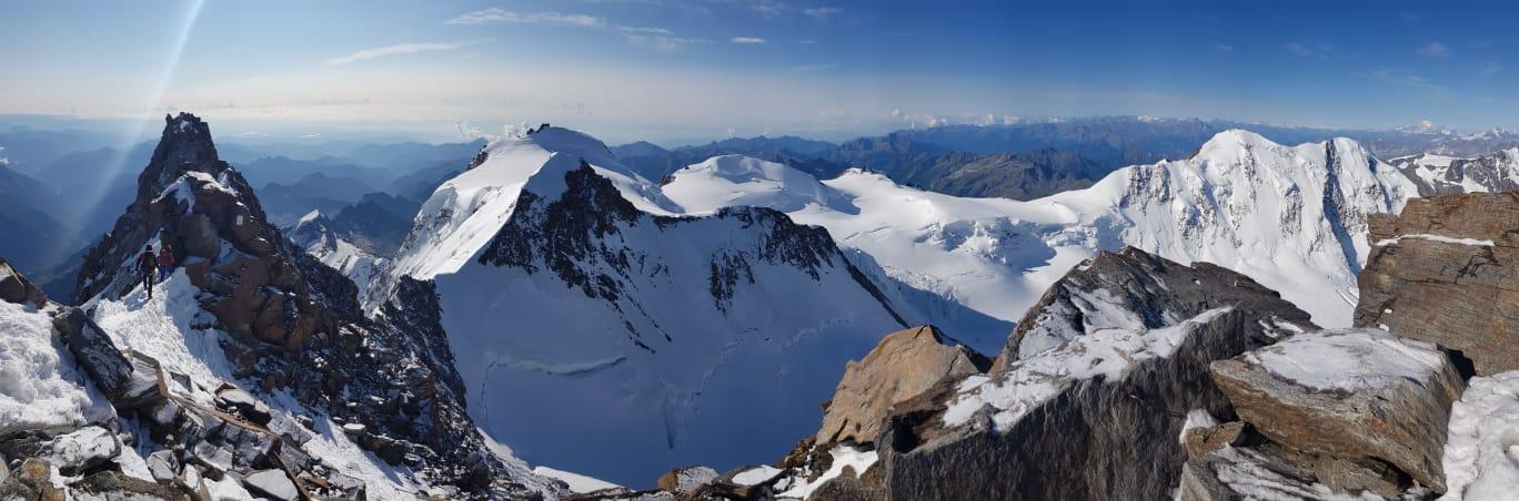 Dufourspitze 4.634 m Überschreitung (Hochtour) (19)