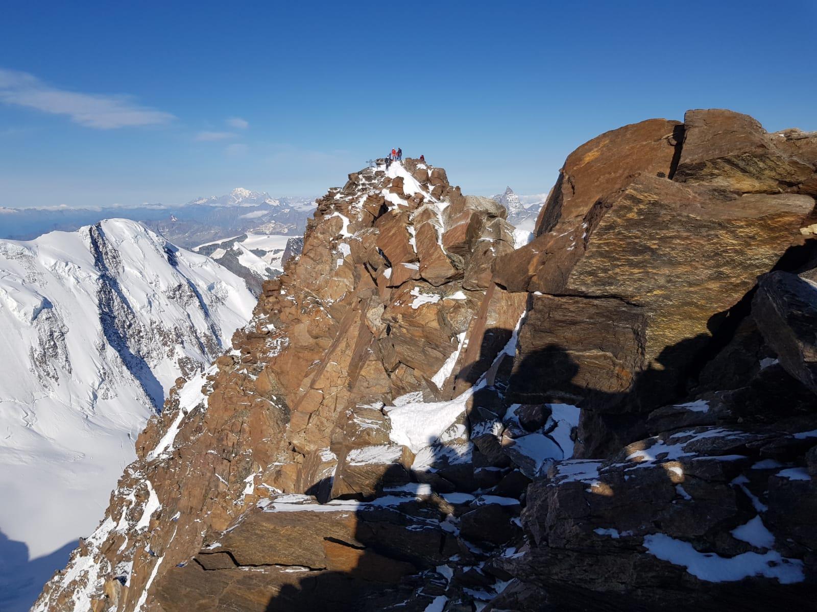 Dufourspitze 4.634 m Überschreitung (Hochtour)