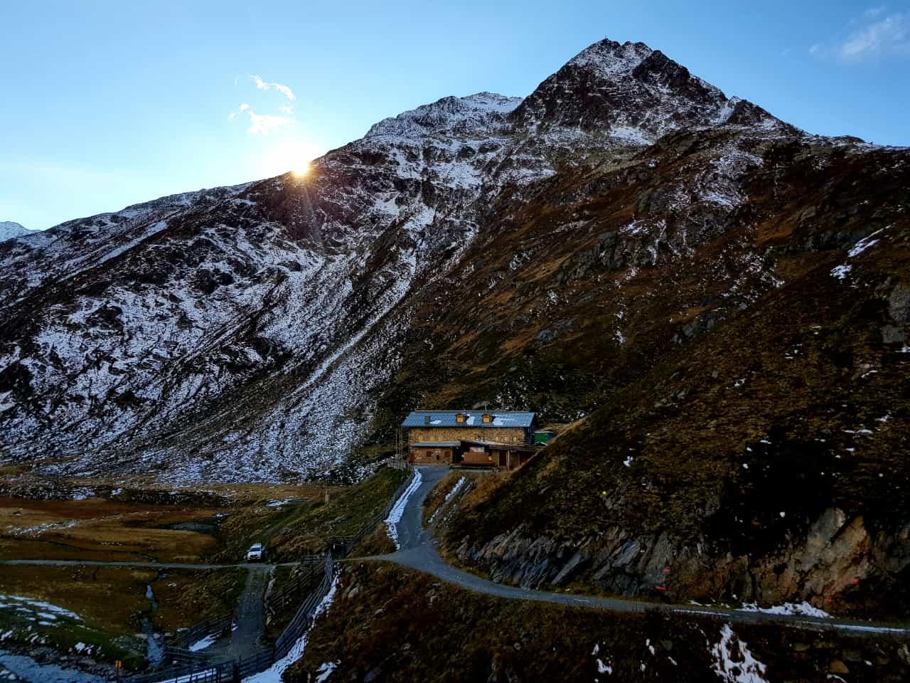 Amberger Hütte 2.135 m (Wanderung)